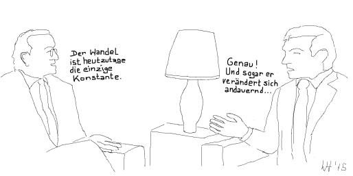konstanter Wandel