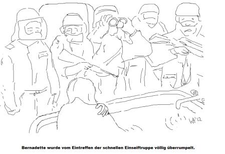 2) Bernadette im Bad