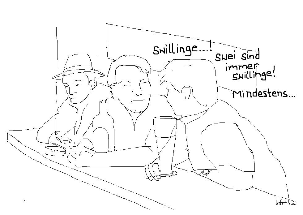 9) Swillinge